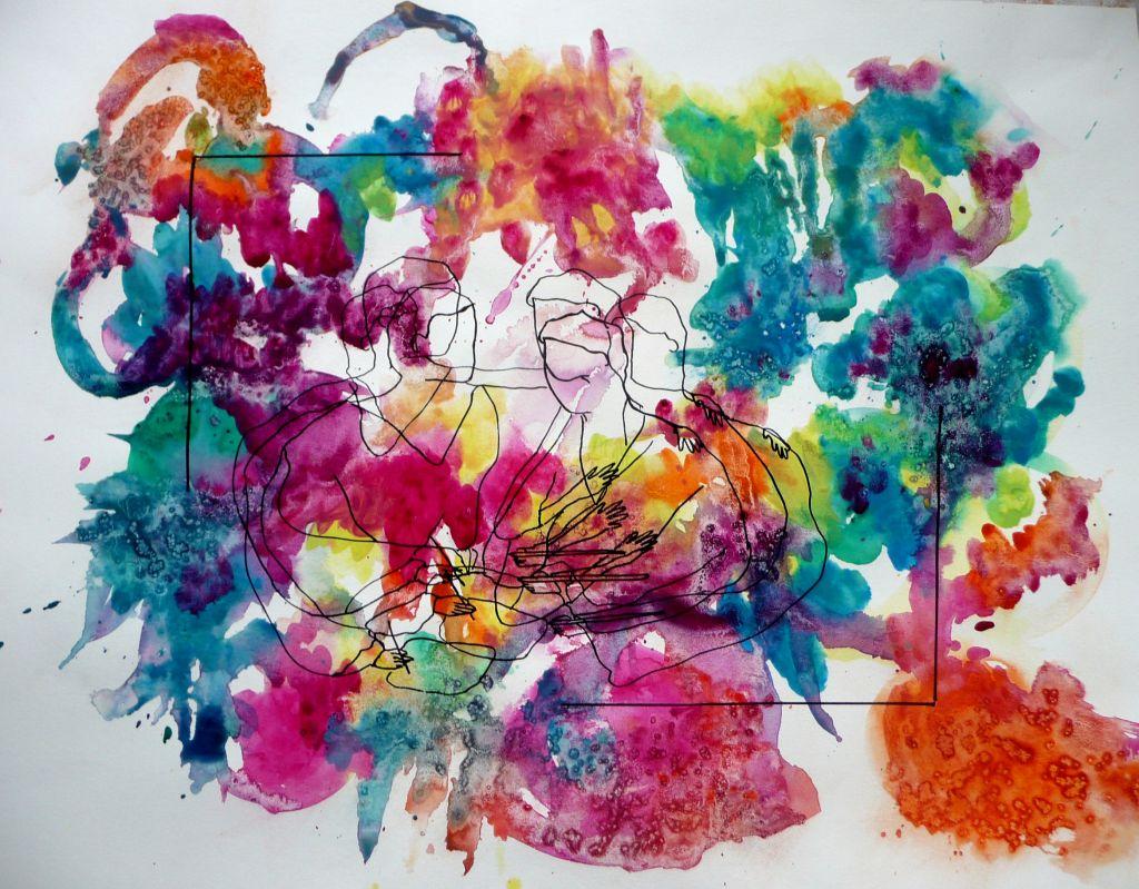 Tension dessin couleur mecenavie - Dessin de fleur en couleur ...