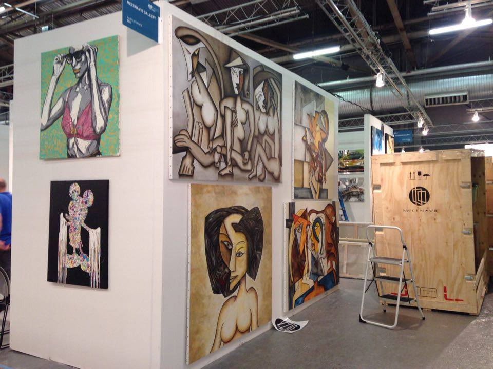 Le salon art expo new york 2016 ouvre ses portes mecenavie for Salon international d art contemporain toulouse